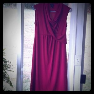 Oh Baby by Motherhood red maternity dress